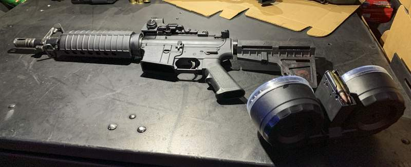 Associated Press This is the firearm used by Connor Betts in the mass shooting. A friend has told federal agents that he helped Betts assemble the weapon.
