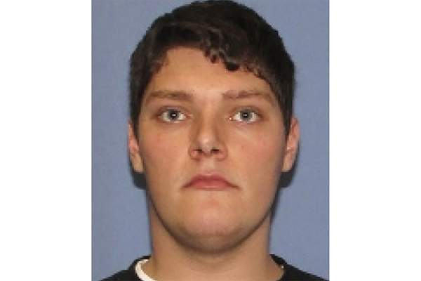 FILE - This undated file photo provided by the Dayton Police Department shows Connor Betts, the 24-year-old masked gunman in body armor who killed several people, including his sister, before he was slain by police. The FBI has labeled two of those attacks , at a Texas Walmart and California food festival, as domestic terrorism â€