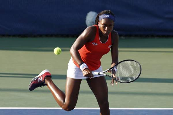 Associated Press Cori Gauff, 15, rose from being ranked 313th to 140th in the wold after Wimbledon and has been given a wild-card U.S. Open entry.