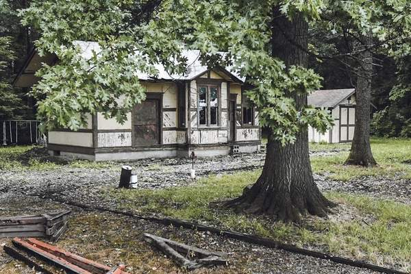 The Fort Wayne Railroad Historical Society hopes to move the Craigville Depot from Jefferson Township to the proposed Headwaters Junction. (Michelle Davies | The Journal Gazette)