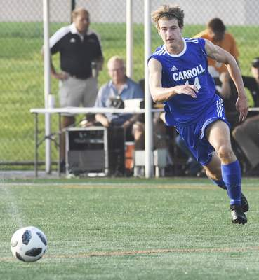 File  Peyton Fosnough scored 16 goals for Carroll during his junior season, earning all-state honorable mention.