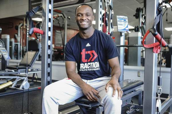 Mike Moore   The Journal Gazette DeAundre Muhammad is the recipient of the Jaylon Smith Minority Entrepreneurship Institute award and owns Traction Athletic Performance.