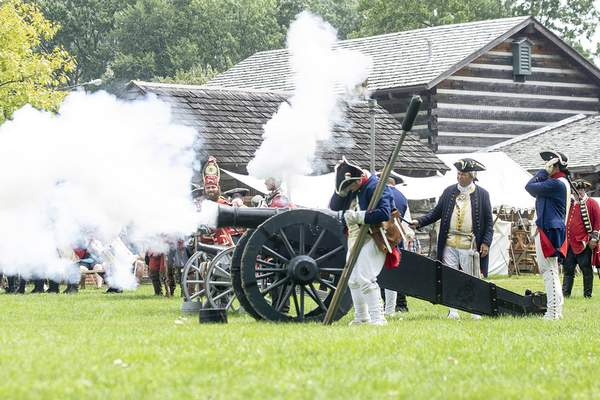 File The Old Fort will be home to mid-1700s battle re-enactments this weekend.