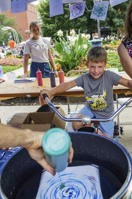 File photos The STEAM Park at Taste of the Arts includes all sorts of activities for children.