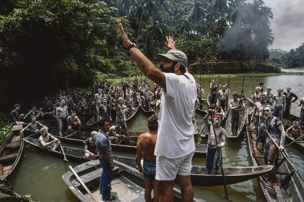 """Zoetrope Corp.  Francis Ford Coppola directs a scene from """"Apocalypse Now,"""" which was originally released in 1979."""