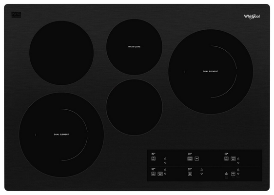 Recalled Whirlpool cooktop