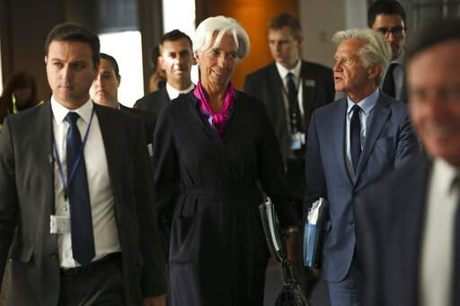 Lagarde defends ECB's low rates as she prepares to take over