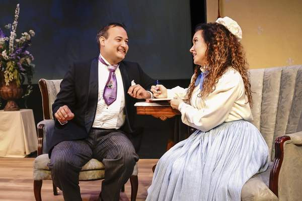 """Director John Tolley says it is """"astonishing"""" how much talent is in the city – including Aaron Mann, left, and Kelly Maloney."""