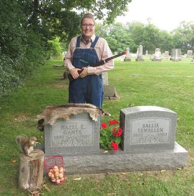 Courtesy The North Webster Community Public Library will have its cemetery walk Sunday. The living history event features re-enactors who provide free guided walks through the North Webster Cemetery.