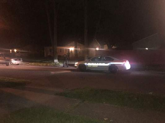 Fort Wayne Police investigate a stabbing at 1610 Roosevelt Drive, late Saturday.