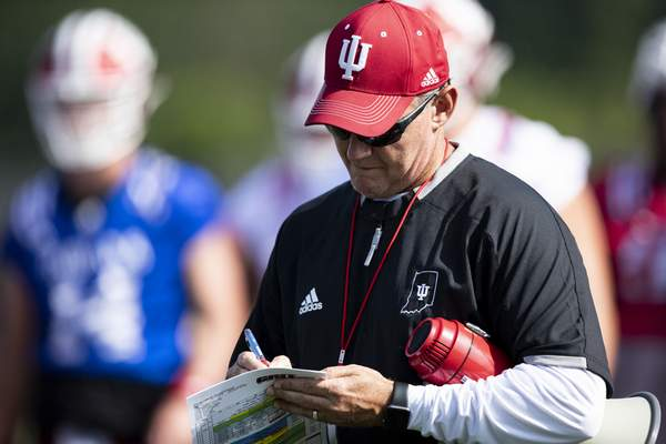 Courtesy Indiana University  Indiana head coach Tom Allen prioritized off-field mental preparation for his team prior to the start of the 2019 season.