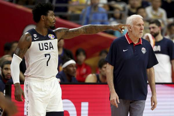 Associated Press  Marcus Smart of the Celtics wasn't part of the original roster pool compiled by  USA Basketball or coach Gregg Popovich.