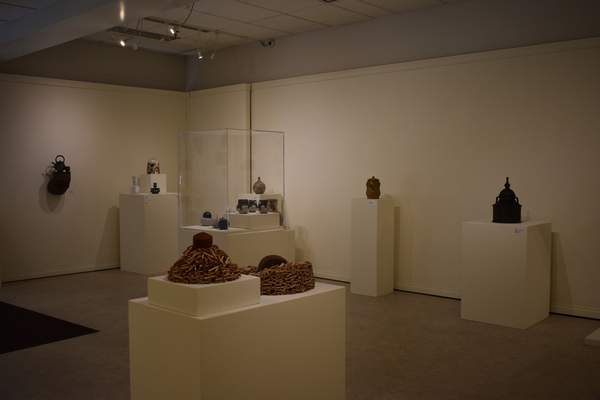 Corey McMaken | The Journal Gazette The State of Clay in Indiana exhibit is on display through Oct. 11 at Purdue University Fort Wayne.