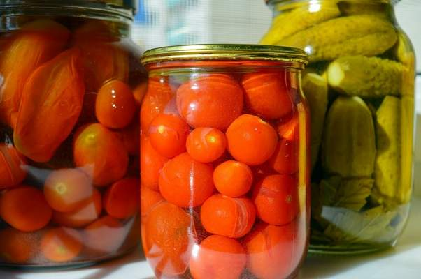 Pixabay Canning is one way to save those late summer fruits and vegetables, such as tomatoes, pickles and corn.