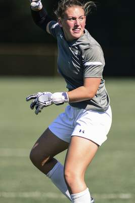 Mike Moore   The Journal Gazette Former Carroll standout Lorah Pund is playing for her hometown Mastodons after a stint playing for Eastern Kentucky University.