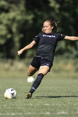 Mike Moore   The Journal Gazette Hannah Kroger and her Purdue Fort Wayne teammates are having a good start to their season.