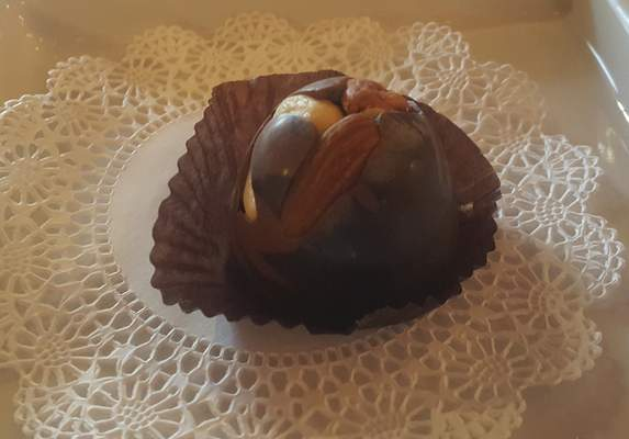 DeBrand Fine Chocolates are available at Naked Tchopstix on West Jefferson Boulevard.