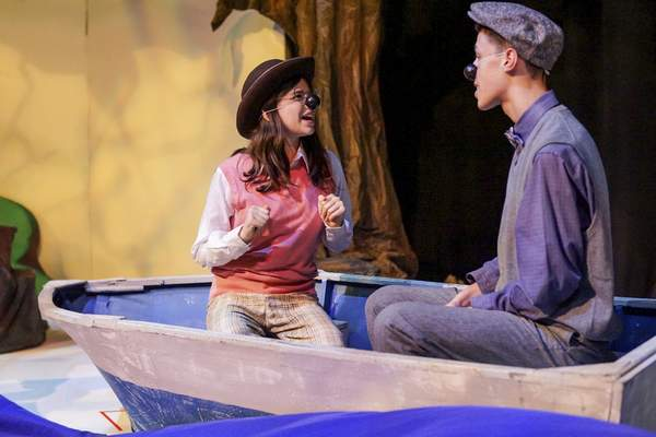 Violet Park plays Mole and Kayden Ptak plays Rat in the play, based on a 1908 novel. It begins the theater group's season, which is based on kindness.