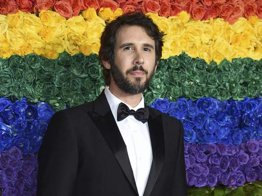 FILE - This June 9, 2019 file photo shows Josh Groban at the 73rd annual Tony Awards in New York. (Photo by Evan Agostini/Invision/AP, File)