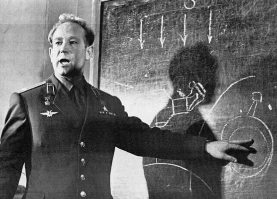 Associated Press  The first human to walk in space, cosmonaut Alexei Leonov, shown in 1965, has died at the age of 85.
