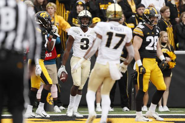 Associated Press Freshman David Bell has emerged as Purdue's go-to receiver after an injury to All-American Rondale Moore.