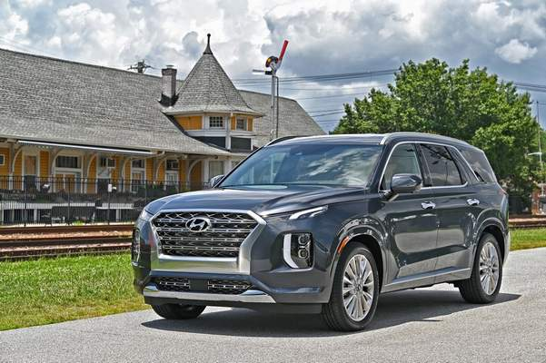 Courtesy Hyundai: Far and fast were no problem for the 2020 Hyundai Palisade, reviewer Casey Williams says.