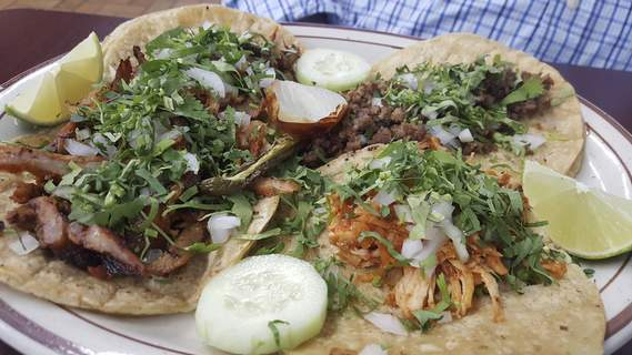 Tropic Chicken Tacos from Tropic Chicken on East State Boulevard. (Ryan DuVall)