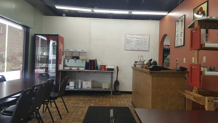 The front counter area at Tropic Chicken on East State Boulevard.