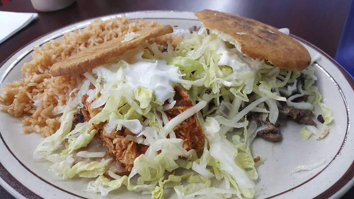 Gorditas from Tropic Chicken on East State Boulevard.