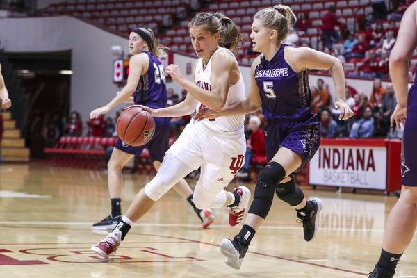 Courtesy Indiana Athletics Ali Patberg hopes to lead the Hoosiers back to the NCAA Tournament. The Hoosiers are No. 24 in the country.