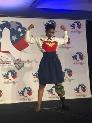 Parker, who served 28 years in the Army after overcoming homelessness, says the pageant helped show her how far she has come while helping female veterans who find themselves in the position she used to be in.