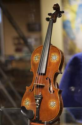 Each of the violins in the touring collection has a story. Some of them can be read at ViolinsOfHopeFW.org.