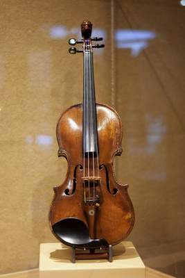 The American Soldier Violin is part of the