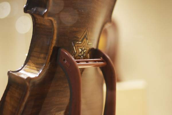 Violins that were played before and during the Holocaust will be on display at the Weatherhead Gallery at the University of Saint Francis from Saturday through Dec. 1.