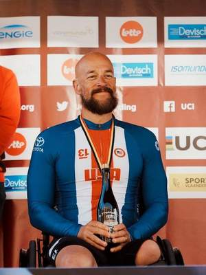 In late-September Fremont's Tom Davis won two silver medals in handcycle at the world championships in Emmen, Netherlands. It was the first time in five Paralympics or world championships attempts that Davis had won a medal.