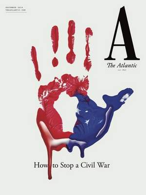 This cover image released by The Atlantic shows their December issue How to Stop a Civil War. (The Atlantic via AP)