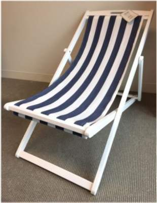 Recalled TJX foldable lounge chair.
