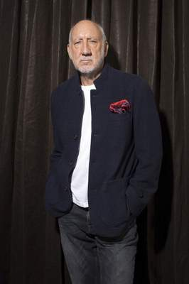 This Oct. 31, 2019 photo shows author-singer Pete Townshend posing for a portrait in New York to promote his debut novel