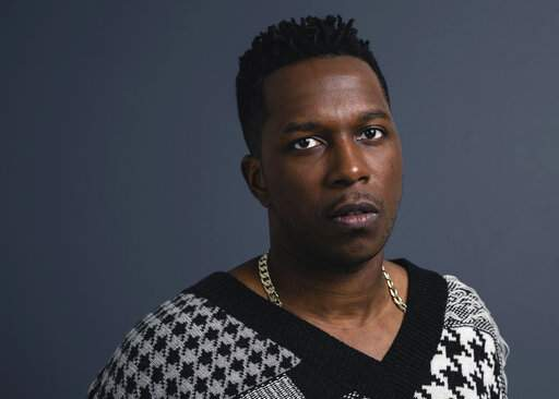 This Nov. 8, 2019 photo shows Leslie Odom Jr. posing for a portrait in New York his first album of all-original material, the 13-track