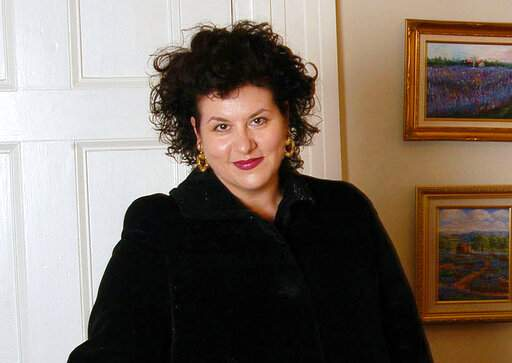 FILE - This July 28, 2004 file photo shows author Adriana Trigiani in New York. Dutton announced Tuesday, Dec. 3, 2019. that it had reached a two-book deal with Trigiani, whose previous works include