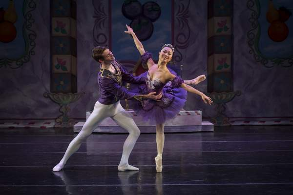 """Jeffrey Crane Fort Wayne Ballet's annual performances of the holiday classic """"The Nutcracker"""" begin Friday at Arts United Center. The shows run through Dec. 15. Saki Morimoto is among dancers that performs as the Sugar Plum Fairy."""