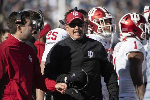 Indiana Penn St Football Associated Press Indiana football coach Tom Allen agreed to a seven-year, $27.3 million contract with the university on Friday. (Barry ReegerFRE)