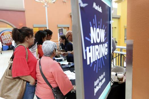 Jobs Report Associated Press