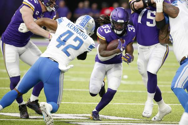 Defense Delivers As Vikings Sail Past Lions 20 7 Nfl The