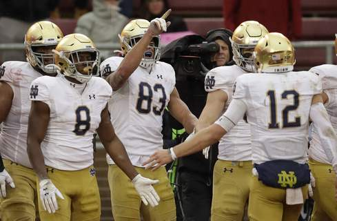 Notre Dame Stanford Football Associated Press