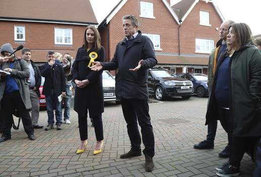 Britain Brexit Election Love Actually Associated Press