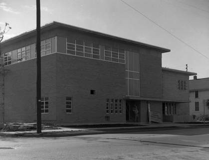 Oct. 26, 1965: The Fort Wayne Rescue Home and Mission is seen under construction at 301 W. Superior St. It was used the next day for the first time as the site of a meeting for area church women. (Journal Gazette file photo)