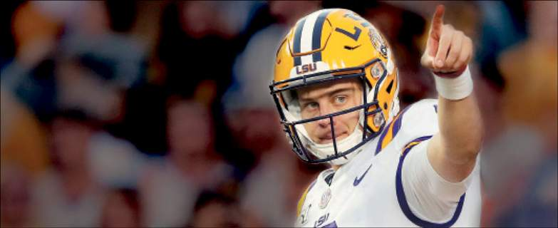 Associated Press LSU quarterback Joe Burrow has led the Tigers to a perfect record in his first season with the team after transferring from Ohio State.