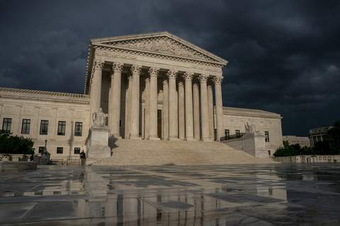 Supreme Court Trump Taxes FILE - In this June 20, 2019 file photo, The Supreme Court is seen under stormy skies in Washington. The Supreme Court says it will hear President Donald Trump's pleas to keep his tax, bank and financial records private. (AP Photo/J. Scott Applewhite) (J. Scott Applewhite STF)