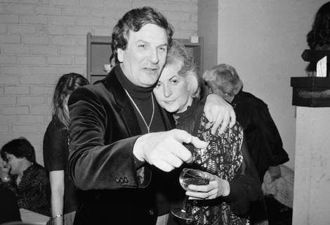 Obit Danny Aiello FILE - In this April 28, 1981 file photo, Actor Danny Aiello hugs actress Beatrice Arthur at a party following their opening performance in Woody Allen's play,